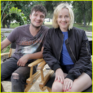 Josh Hutcherson Reunites With 'Hunger Games' Co-Star Jena Malone for Canon Short Film