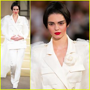 Kendall Jenner Rocks Short Bob Wig for Paris Fashion Week!