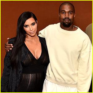 Pregnant Kim Kardashian Bares Baby Bump in Sheer Jumpsuit