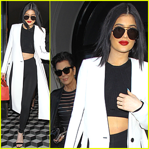 Kylie Jenner Steps Out Amid Tyga Cheating Rumors