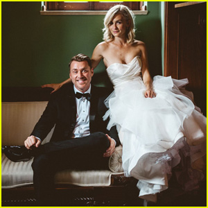 The Carrie Diaries' Lindsey Gort Marries Beau Laughlin -  See the Exclusive Wedding Photos!