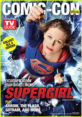 Melissa Benoist Is Supergirl on 'TV Guide' Comic-Con Cover