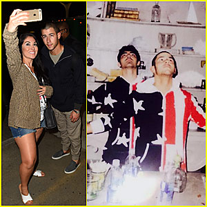 Nick Jonas Returns Home After Taylor Swift's July 4th Bash