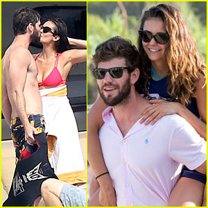 Nina Dobrev Kisses Shirtless Austin Stowell in Hot New Pics!