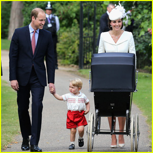 Prince William & Kate Middleton Christen Princess Charlotte!