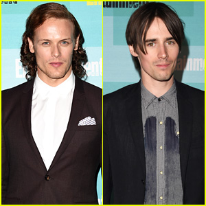 Sam Heughan & Reeve Carney Hit Up EW's Comic-Con Bash!