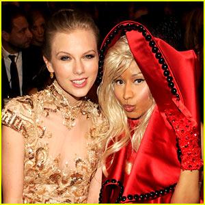 Taylor Swift Makes Nice with Nicki Minaj After 'Twitter War'
