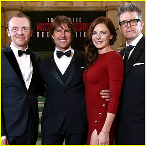 Tom Cruise Goes Black Tie for 'Mission: Impossible - Rogue Nation' World Premiere!