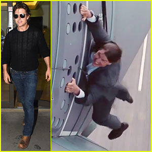 Tom Cruise Hangs Off a Plane in Crazy 'Mission: Impossible' Stunt Featurette!