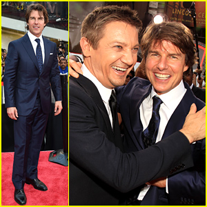 Tom Cruise & Jeremy Renner Premiere 'Mission Impossible - Rogue Nation' in NYC!