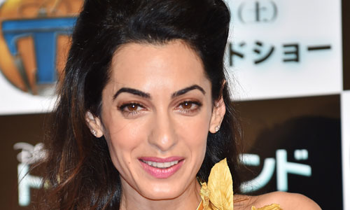 Is amal clooney taking over for donald trump as host of celebrity