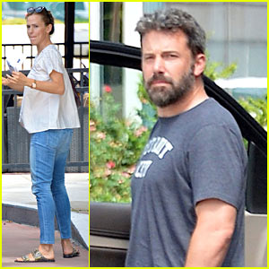 Ben Affleck & Jennifer Garner Step Out Together Wearing Wedding Rings