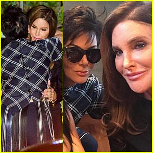 Caitlyn & Kris Jenner Reunite In Sweet Selfie From Kylie's Birthday Dinner