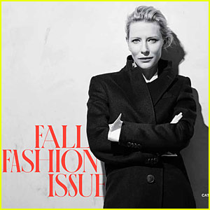 Cate Blanchett Covers T Magazine's Fall Fashion Issue