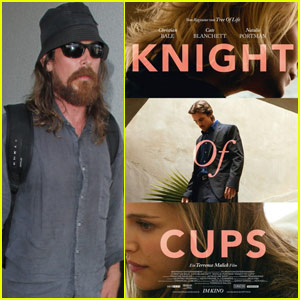 Christian Bale's 'Knight Of Cups' Has a New Poster!