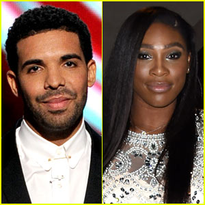 Drake & Serena Williams Spotted Kissing on Dinner Date