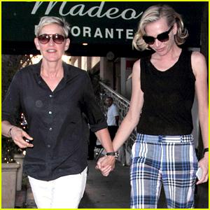 Ellen DeGeneres & Portia de Rossi Look So Happy on Their Date Night
