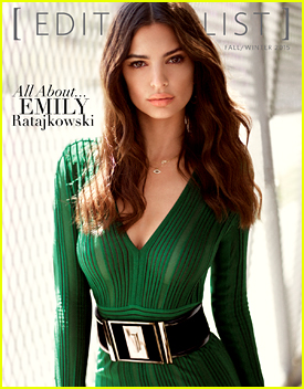 Emily Ratajkowski Takes The Second Cover For 'Editorialist Mag' Fall/Winter 2015