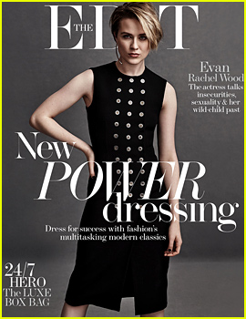 Evan Rachel Wood Discusses Her Bisexuality & Wanting to Adopt a Child with 'The Edit'