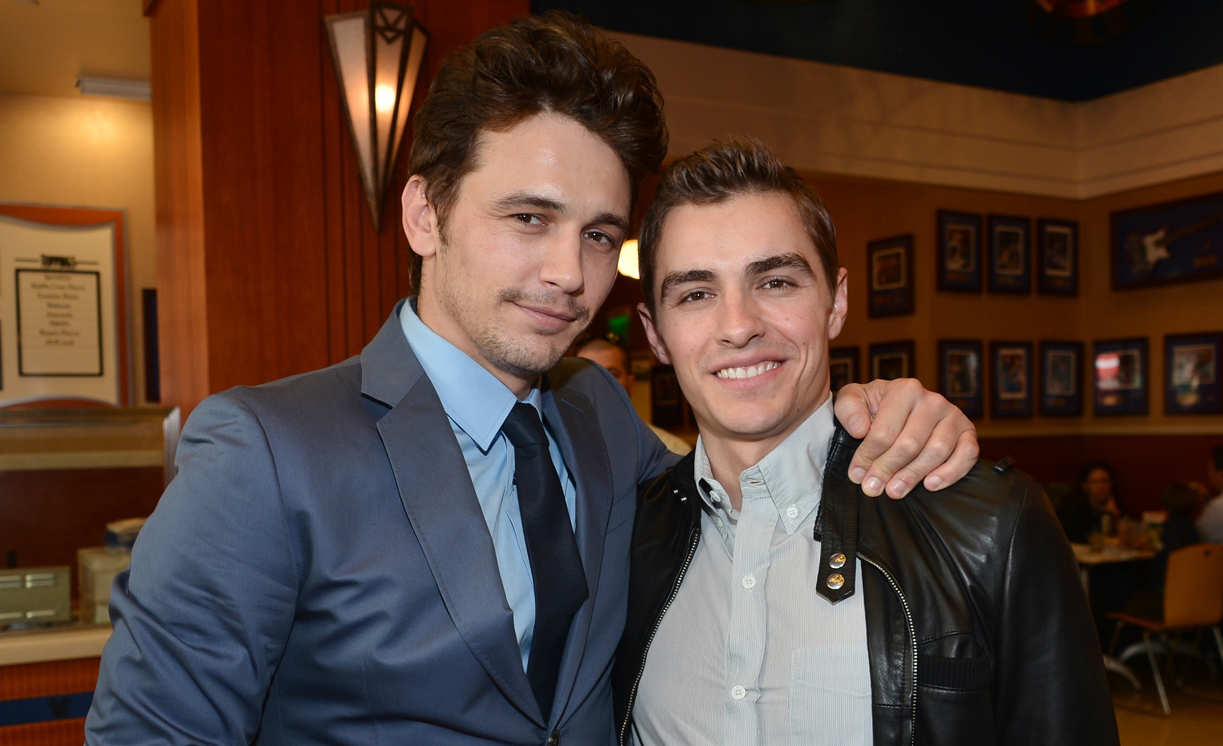 James franco congratulates brother dave franco on - Lopez iturriaga hermanos ...