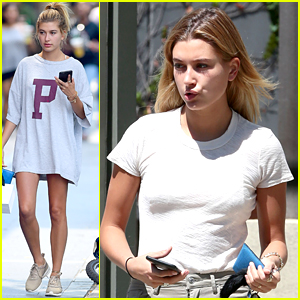 Hailey Baldwin Is 'Bringing Anklets Back' After Cute Snapchat Vid
