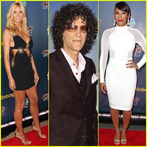 Heidi Klum & Mel B Kick Off Season 10 of 'America's Got Talent'!