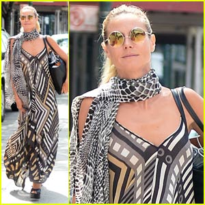 Heidi Klum Gushes Over Man Who Throws Up Objects