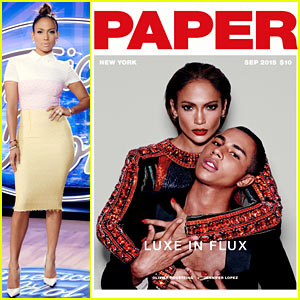 Jennifer Lopez Covers 'Paper' Mag with Olivier Rousteing!