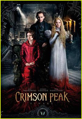 Jessica Chastain Shares New 'Crimson Peak' Poster!