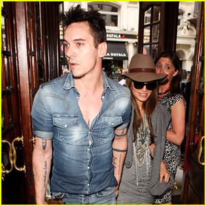 Jonathan Rhys Meyers & Fiancée Mara Lane Have a Date Night!