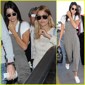 Kendall Jenner Jets Off to Mexico With Pal Hailey Baldwin