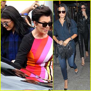 Kourtney Kardashian Enjoys Girls Night Out with Kylie Jenner