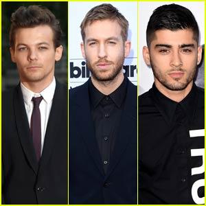Louis Tomlinson 'Favorites' Calvin Harris' Tweet to Zayn Malik