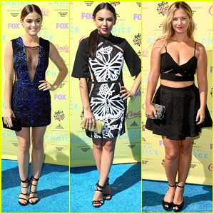 Lucy Hale Wins Choice TV Drama Actress At Teen Choice Awards 2015