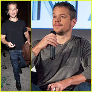 Matt Damon Says 'The Martian' Is 'A Really Entertaining Story'