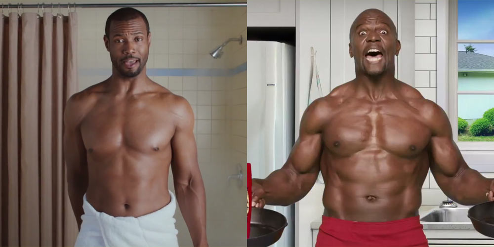 Isaiah Mustafa & Terry Crews' New Old Spice Commercial is ...