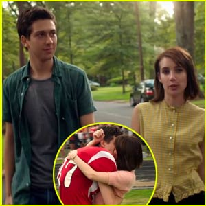 Nat Wolff & Emma Roberts Kiss in First Look 'Ashby' Trailer