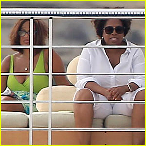 Oprah Winfrey & Gayle King Go On Vacation with Royalty!