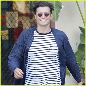 Orlando Bloom Steps Out Amid 'Pirates' Return Excitement