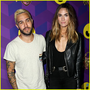 Pete Wentz Strums Up Support at Just Jared's 'Way Too Wonderland' Party