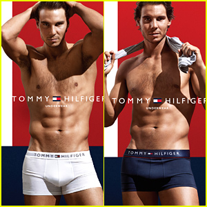 Rafael Nadal Strips Down Shirtless to His Underwear for Sexy Tommy Hilfiger Campaign!