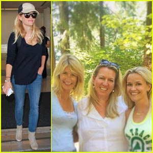 Reese Witherspoon Has a 'Wild' Reunion With Laura Dern & Cheryl Strayed in Portland!