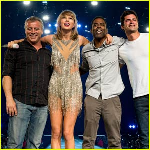 Taylor Swift Brings Out Matt LeBlanc, Chris Rock, Uzo Aduba, Mary J. Blige, & More! (Video)