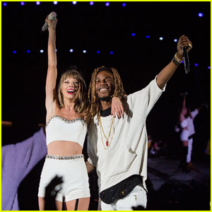 Watch Taylor Swift Sing 'Trap Queen' With Fetty Wap! (Video)