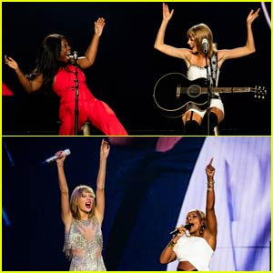 Taylor Swift Brings Out Uzo Aduba, Mary J. Blige, & More! (Video)