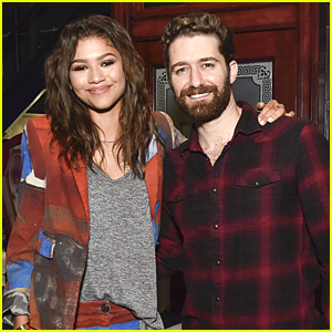 Zendaya Visits Matthew Morrison At 'Finding Neverland' After Launching New Shoe Line