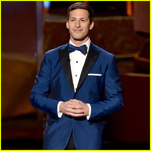 Andy Samberg Shows 'Emmys Can Kill' - Watch Now!