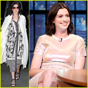 Anne Hathaway Parodies the Last Scene of Romantic Comedies