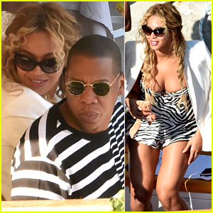 Beyonce & Jay Z Enjoy an Italian Family Vacation