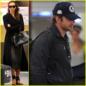 Bradley Cooper & Irina Shayk Travel to New York City Together